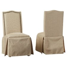 Fredericksburg Skirted Parson Chair (Set of 2)
