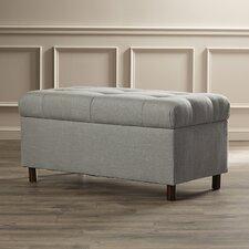 Henrietta Tufted Linen Storage Bedroom Bench
