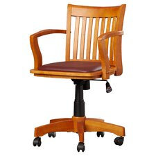Celina Mid-Back Deluxe Banker's Chair