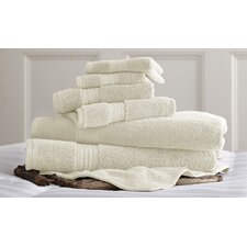 Bishopsworth 6 Piece Egyptian Quality Cotton Towel Set