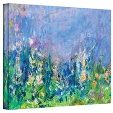 Lavender Fields Painting Print on Canvas