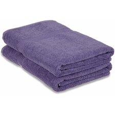 Hyde 600GSM Premium Combed Cotton 2 Piece Towel Set