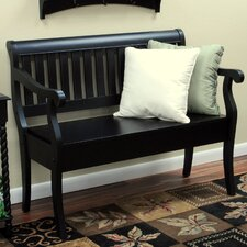 Woodbrygge Wooden Entryway Storage Bench