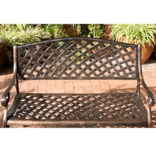 Clifford Cast Aluminum Garden Bench