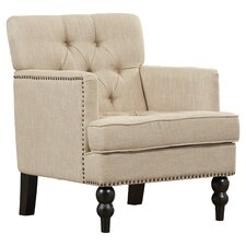 Summerfield Tufted Upholstered Club Arm Chair