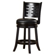 """Westerville 29"""" Swivel Bar Stool with Cushion"""