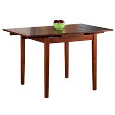 Square kitchen dining tables wayfair for Dining table weight