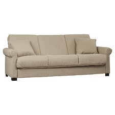 Lawrence Full Convertible Upholstered Sleeper Sofa