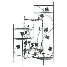 Heathcote Climbing Vines Multi-Tiered Plant Stand
