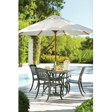 Kytson 5 Piece Outdoor Dining Set