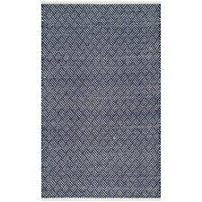 Boston Hand-Woven Navy Area Rug
