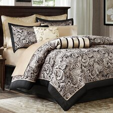 Pokanoket 12 Piece Reversible Comforter Set