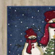 Cedar Drive Snowmen and Tree Mat