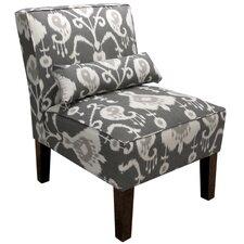 Ikat Slipper Chair