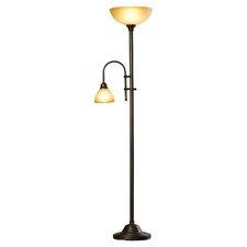 """Marshallville 71.5"""" Torchiere Floor Lamp"""