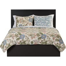Granborough 3 Piece Reversible Coverlet Set