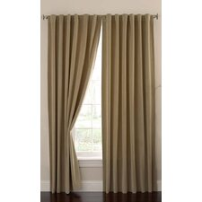 Moser Velvet Rod Pocket Window Single Curtain Panel
