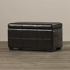 Dana Leather Storage Ottoman