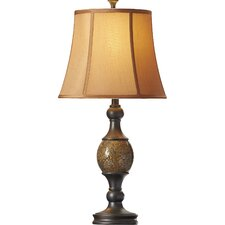 "Adelaide 29.25"" H Table Lamp with Bell Shade (Set of 2)"