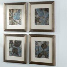Botanical Perfect Match 4 Piece Framed Painting Print Set