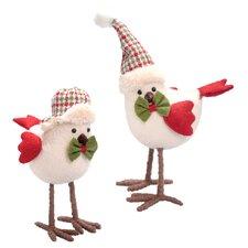 Hawridge 2 Piece Tailed Baby Bird Figurine Set