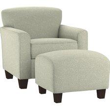 Arm Chair & Ottoman Set