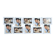 10-Opening White Collage Frame