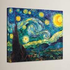 Starry Night by Vincent Van Gogh Painting Print on Canvas