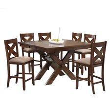 Galgorm Parks 7 Piece Counter Height Dining Set