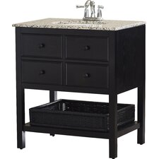 "Gettysburg 30"" Single Bathroom Vanity Set"