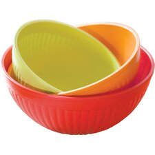 Pickering 3 Piece Prep and Serve Mixing Bowl Set
