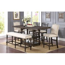Atwell Counter Height Extendable Dining Table