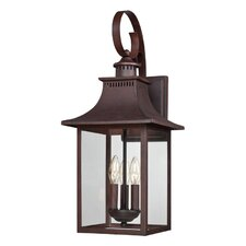 Tewksbury 3 Light Outdoor Wall Lantern