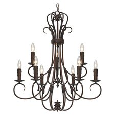 Gaines 9 Light Chandelier