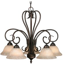 Gaines 5 Light Nook Chandelier