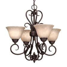 Gaines 4 Light Mini Chandelier