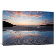 Evening Reflection I Photographic Print on Wrapped Canvas
