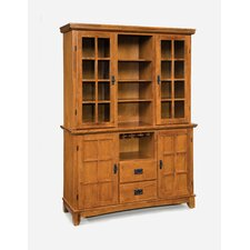 Arts and Crafts China Cabinet