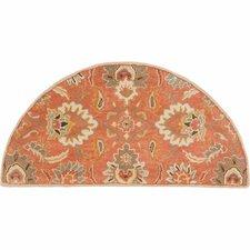 Gaither Orange & Brown Area Rug