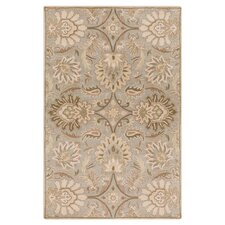 Camden Turtle Green Floral Area Rug