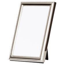 Lucie Delicate Beading Picture Frame in Silver
