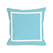 Pekham Simple Square Polyester Throw Pillow