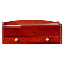 Ivy Musgrove Men's Dresser Top Jewelry Box