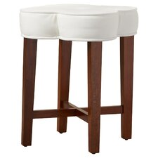 Carter Vanity Stool in Distressed Cherry