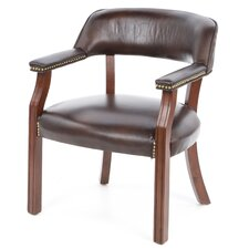 Walford Vinyl Home Office Arm Chair
