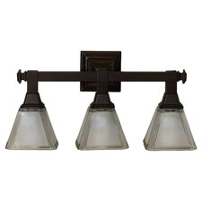 Mowrer 3 Light Bath Vanity Light