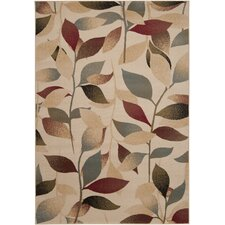 Yden Camel Mossy Stone Area Rug