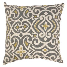 Mccrudden Damask Throw Pillow