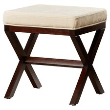 Milford Wood Vanity Stool