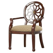 Lucinda Spider Web Fabric Arm Chair